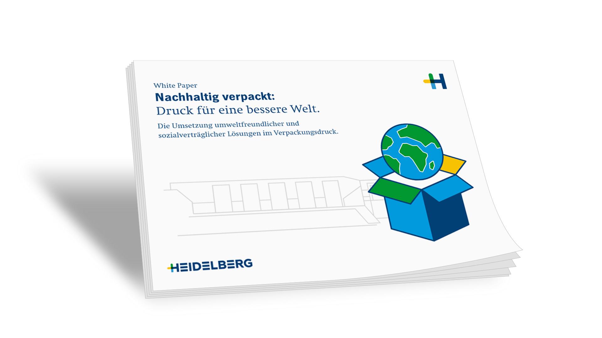 Whitepaper: Nachhaltig verpackt: Druck für eine bessere Welt.