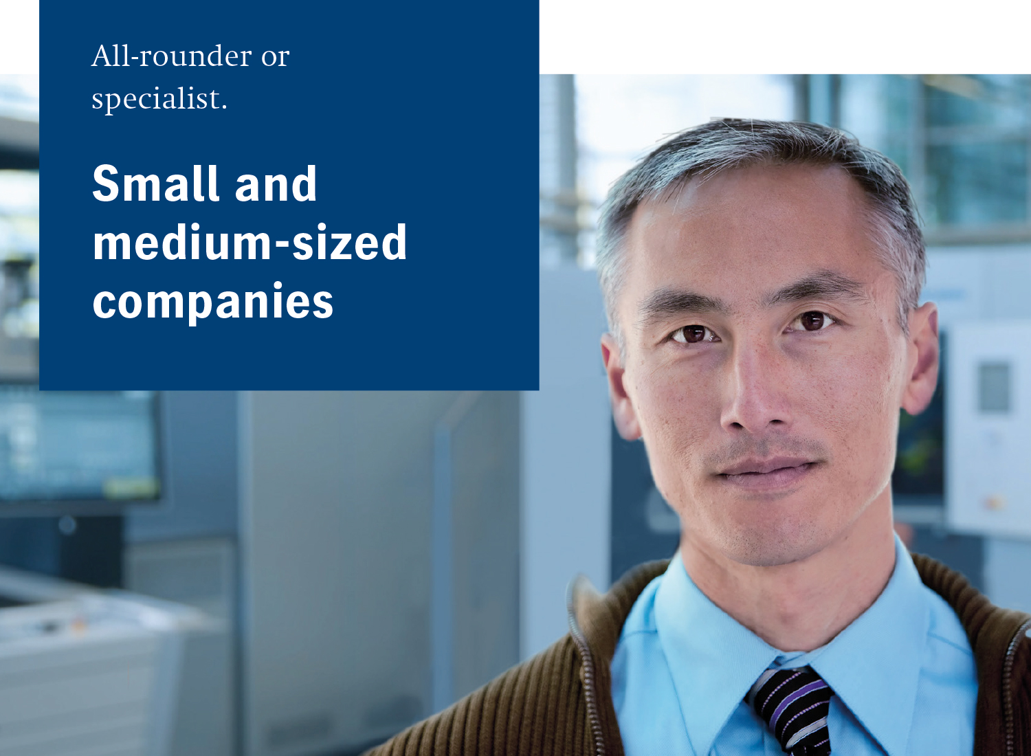 For Small & Medium-sized Companies