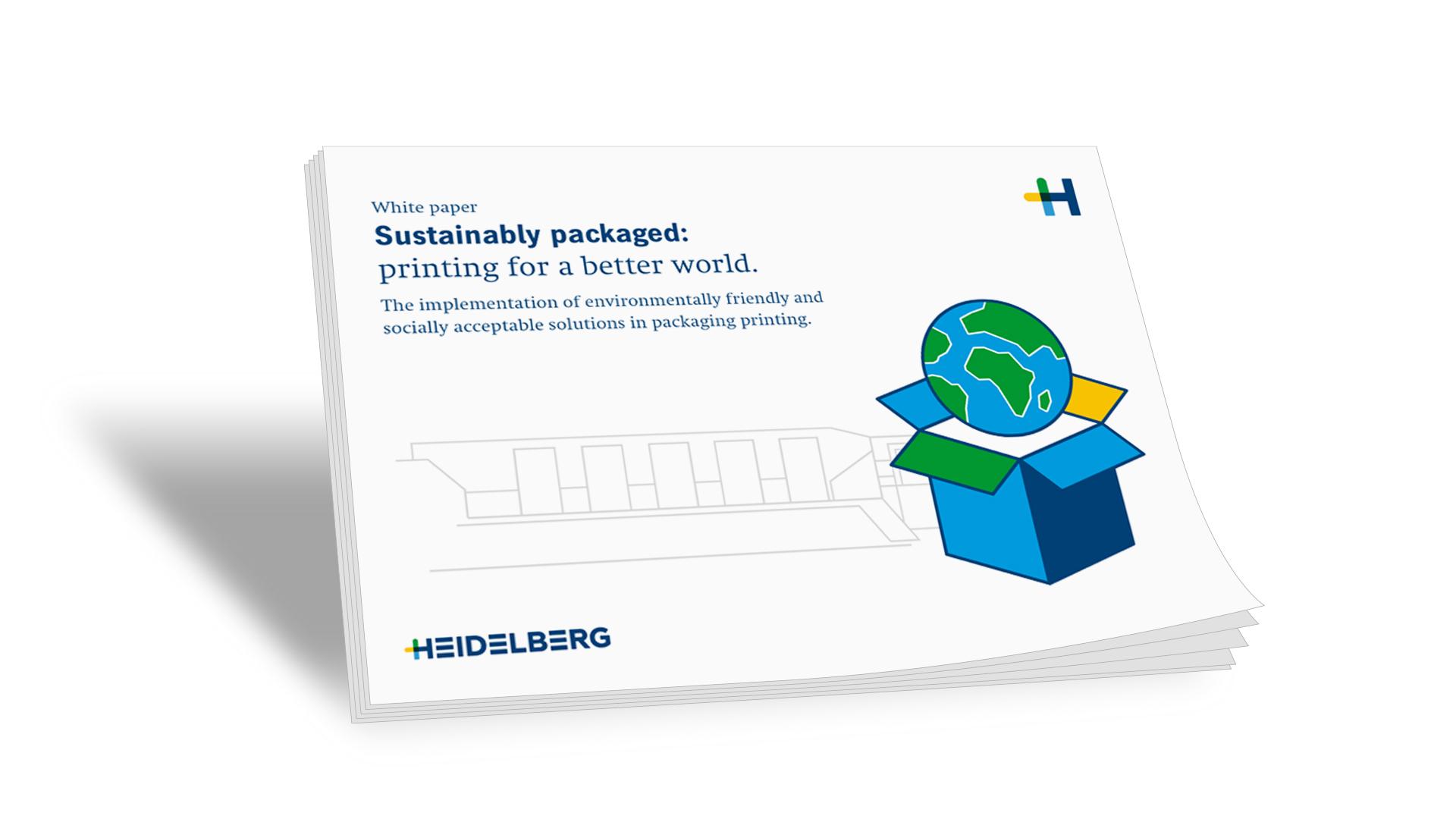 Libro blanco: Embalaje sostenible: imprimir para un mundo mejor.