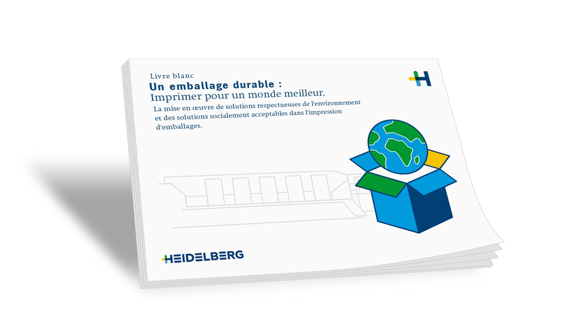 Livre blanc: Emballage durable : imprimer pour un monde meilleur.