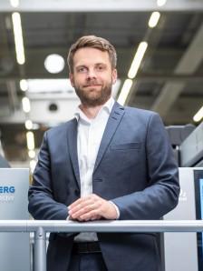 Florian Franken, Leiter PM Speedmaster CX 104