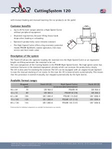 POLAR_CuttingSystem-120_Productsheet