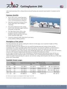 POLAR_CuttingSystem-200_Productsheet
