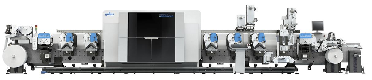 Heidelberg Label Printing Equipment